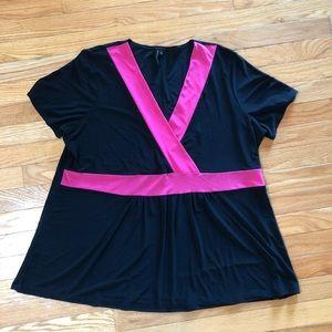 EUC  Susan Lawrence woman blouse 2X